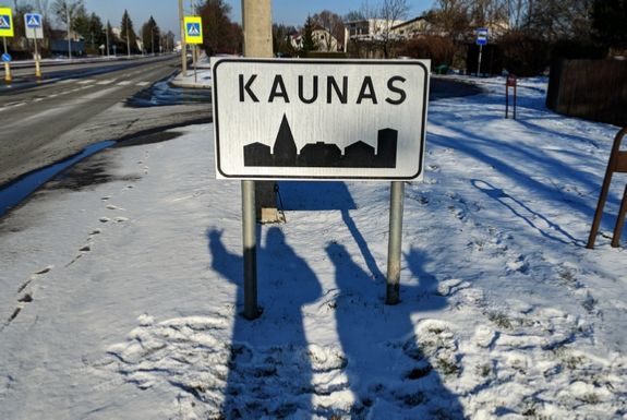 Settlement signs of Lithuania