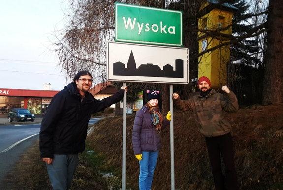 Settlement signs of Poland